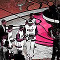 Lebron's 1st Ring by J Anthony