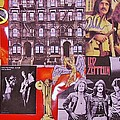 Led Zeppelin  Collage Number Two by Donna Wilson