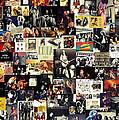 Led Zeppelin Collage by Taylan Soyturk