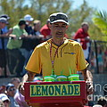 Lemonade Vendor Print by Steven Blivess