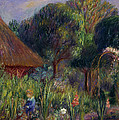 Lenna By A Summer House by William James Glackens