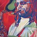 Leroi Moore Colorful Full Band Series by Joshua Morton