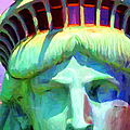 Liberty Head Painterly 20130618 Long by Wingsdomain Art and Photography