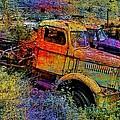 Liberty Truck Abstract by Robert Jensen