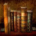 Librarian - Writer - Antiquarian books Print by Mike Savad
