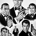 Licence To Kill  Bw by Andrew Read