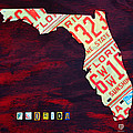 License Plate Map Of Florida By Design Turnpike by Design Turnpike