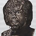 lieutenant commander Worf Star Trek TNG by Giulia Riva