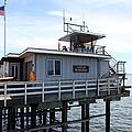 Lifeguard Headquarters On The Municipal Wharf At Santa Cruz Beach Boardwalk California 5d23828 by Wingsdomain Art and Photography