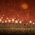 Light Bulb God by Gianfranco Weiss