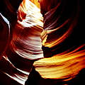 Light From Above - Canyon Abstract by Aidan Moran