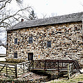 Lightfoot Mill At Anselma Chester County by Bill Cannon