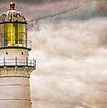 Lighthouse Cape Elizabeth Maine Print by Bob Orsillo