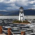 Lighthouse in Lake Dillon Print by Juli Scalzi