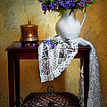 Lilacs And Lace by Diana Angstadt