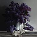 Lilacs Study No.2 2011 by Larry Preston