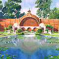 Lily Pond And Botanical Garden by Mary Helmreich