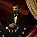 Lincoln At Fords Theater 2 by Ray Downing