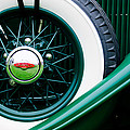 Lincoln Spare Tire Emblem by Jill Reger