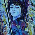 Lindsey Stirling Print by Anna  Duyunova