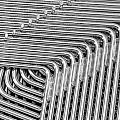 Lines And Curves Print by Ruud Morijn