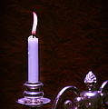 Lit Candle by Amanda And Christopher Elwell