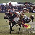 LITANG HORSE FESTIVAL - KHAM TIBET Print by Craig Lovell