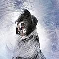 Little Doggie In A Snowstorm by Gun Legler