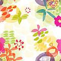 Little Watercolor Garden by Linda Woods