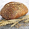 Loaf Of Multigrain Bread by Elena Elisseeva