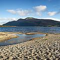 Loch Lomond Pano by Jane Rix