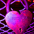 Lock Of Love In Pink