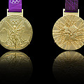 London 2012 Olympics Gold Medal Design by Matthew Gibson
