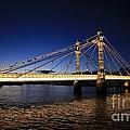 LONDON Albert Bridge...