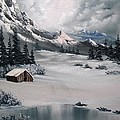 Lonely Cabin by John Koehler