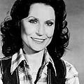 Loretta Lynn Smiling by Retro Images Archive