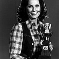Loretta Lynn With Award by Retro Images Archive