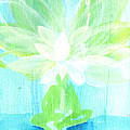 Lotus Petals Awakening Spirit Print by Ashleigh Dyan Bayer