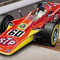 Lotus Stp Indy Turbine by David Kyte