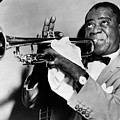 Louis Armstrong (1900-1971) by Granger