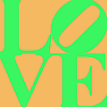 Love 20130707 Green Orange by Wingsdomain Art and Photography