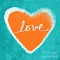 Love Poster by Linda Woods