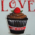 Love Valentine Cupcake by Catherine Holman
