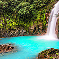 Lower Rio Celeste Waterfall by Andres Leon
