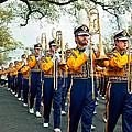 Lsu Marching Band 3 by Steve Harrington