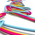 Luminous Cables Closeup by Allan Swart
