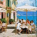 Lunch In Portofino by Michael Swanson