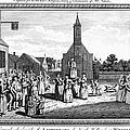 LUTHERAN WEDDING, 1700s Print by Granger