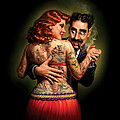 Lydia The Tattooed Lady by Mark Fredrickson
