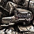 Machinery Abstract by Radoslav Nedelchev